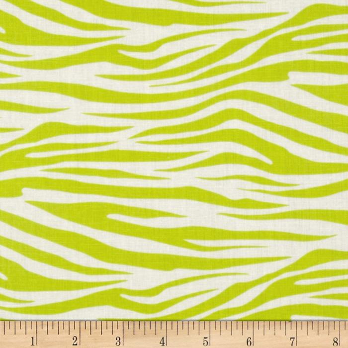 Metro Living Zebra Lime