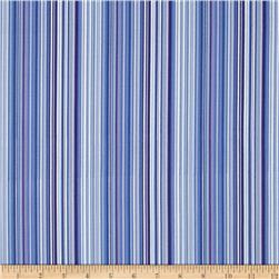 April Cornell Music Collection Stripe Periwinkle