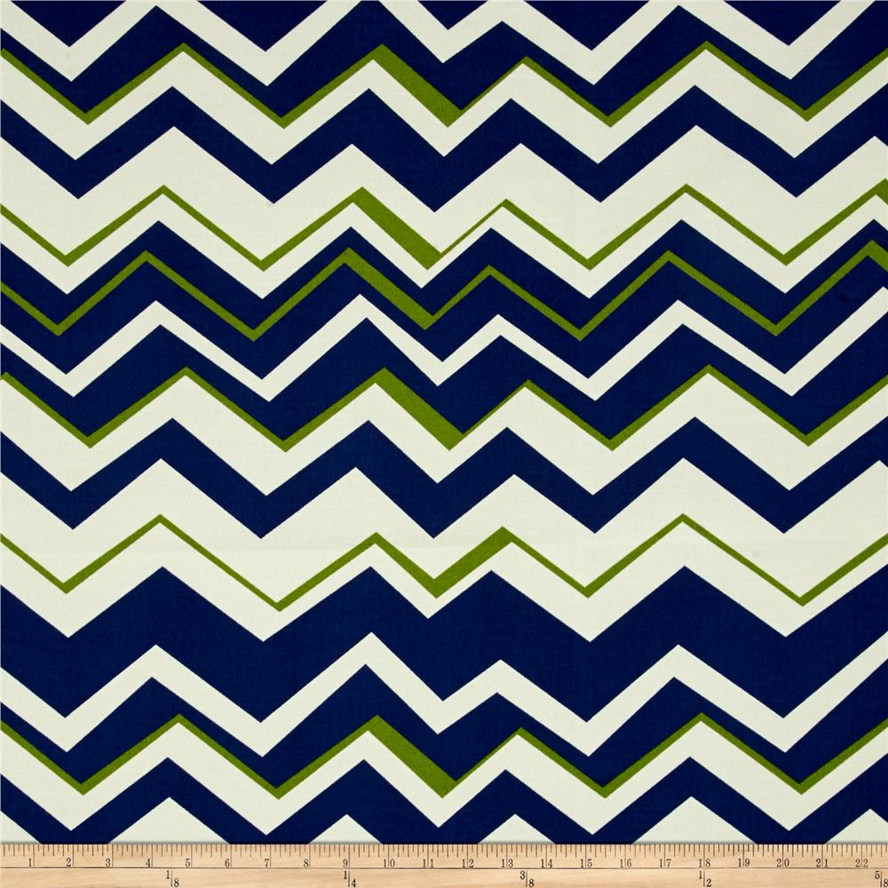 Richloom indoor outdoor tempest navy discount designer for Outdoor fabric