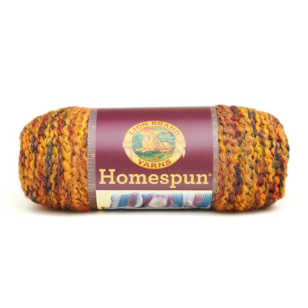Lion Brand Homespun Yarn (377) Harvest