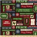 Christmas Elegance Christmas Words Black