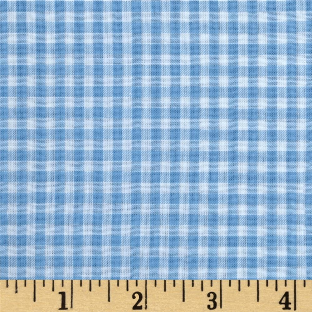 "Imperial 60"" Gingham 1/8"" Light Blue"