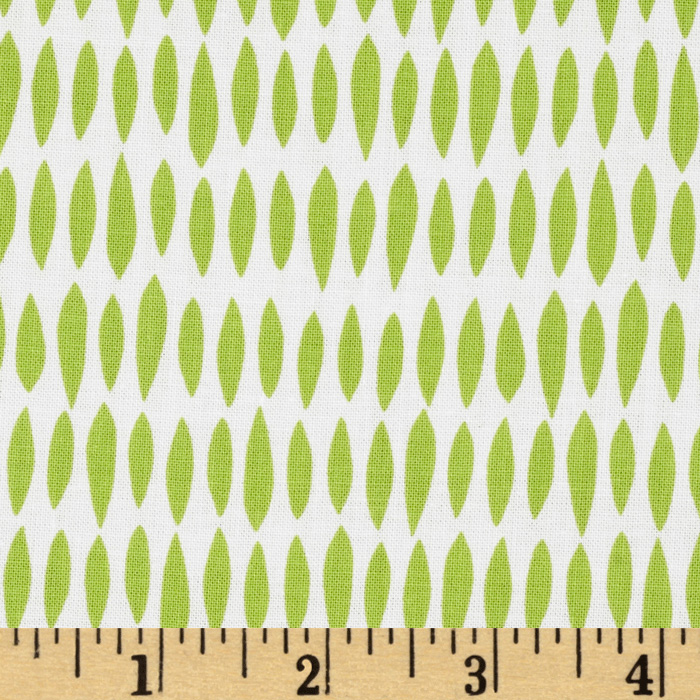 Riley Blake My Sunshine Raindrops Green Fabric
