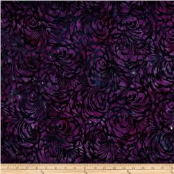 Artisan Batiks Elements Tonal Swirl Pansy Fabric