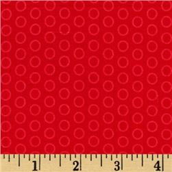 Riley Blake Circle Dot Red