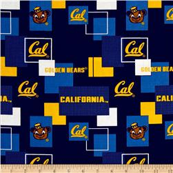 Collegiate  Broadcloth University of California Block Print