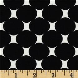 Michael Miller Mid-Century Modern Atomic Dot Ebony Fabric