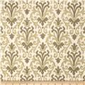 Jaclyn Smith Modern Damask Blend Avocado