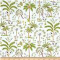 Haute Girls Palm Trees White
