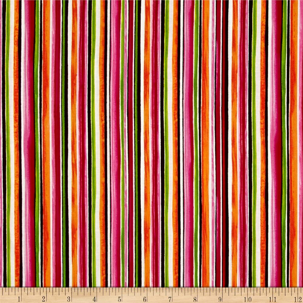 Timeless Treasures Maya Stripe Multi