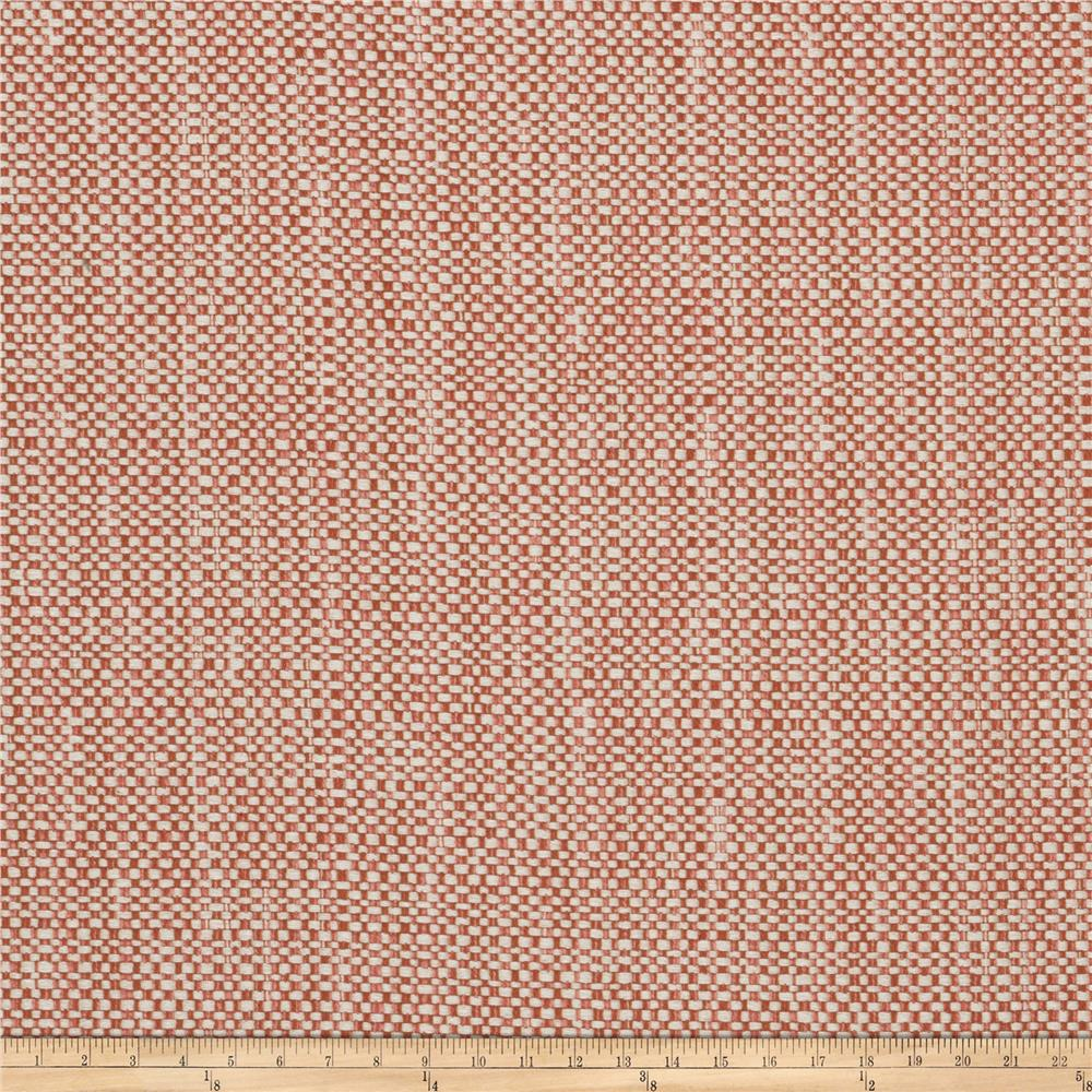 Fabricut Belize Basket Weave Papaya