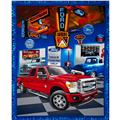 Ford F150 Truck Panel Red/Blue/Grey/Orange