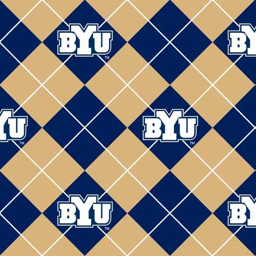 Collegiate Fleece Brigham Young University Argyle