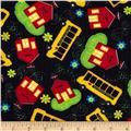 School Days School & School Bus Toss Black
