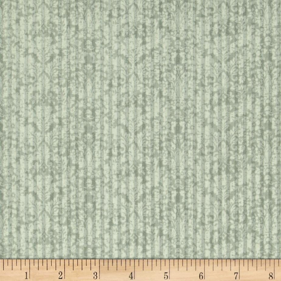 Mirabelle Damask Stripe Green