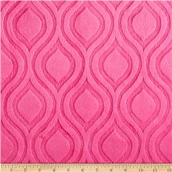 Premier Prints Embossed Marquise Cuddle Fuchsia