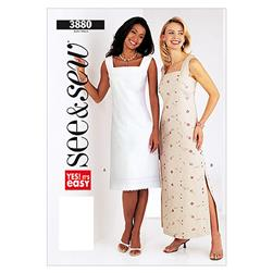 Butterick Misses'/Misses Petite Dress Pattern B3880 Size 0A0