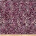Bali Batiks Handpaints Chevron Brush Wisteria