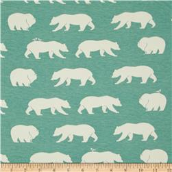 Birch Organic Bear Camp Knit Bear Hike Mineral