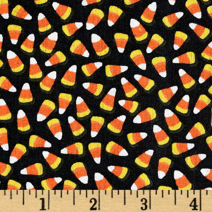 Halloween Basics Tossed Candy Corn Black/Multi