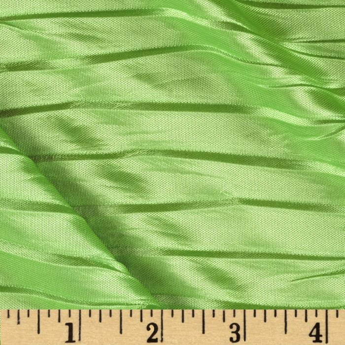Plisse Single Knit Lime