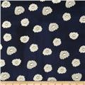 Cotton & Steel Hat Box Desert Flower Navy