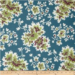 Duralee Cheryl Blend Blue/Green Fabric