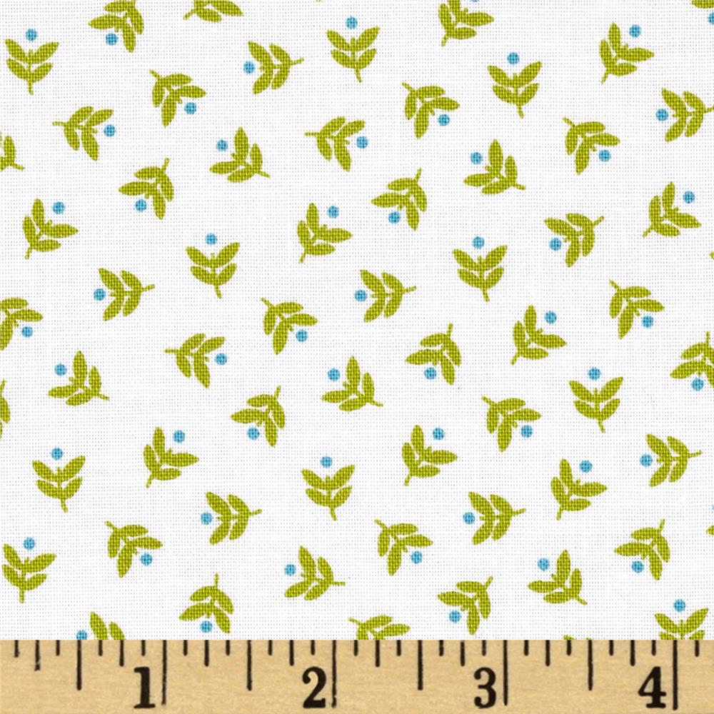 Camp Cozy Mini Floral Green