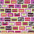 Beatbox Cassette Tapes Pink Retro