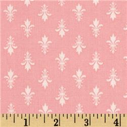 Moda Kindred Spirits Fleur De Lis Rose