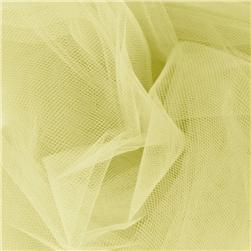 54'' Wide Tulle Maize Fabric