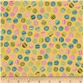 Patterned Dots Yellow