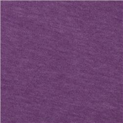 Tri-Blend Heather Jersey Knit Dark Lavender