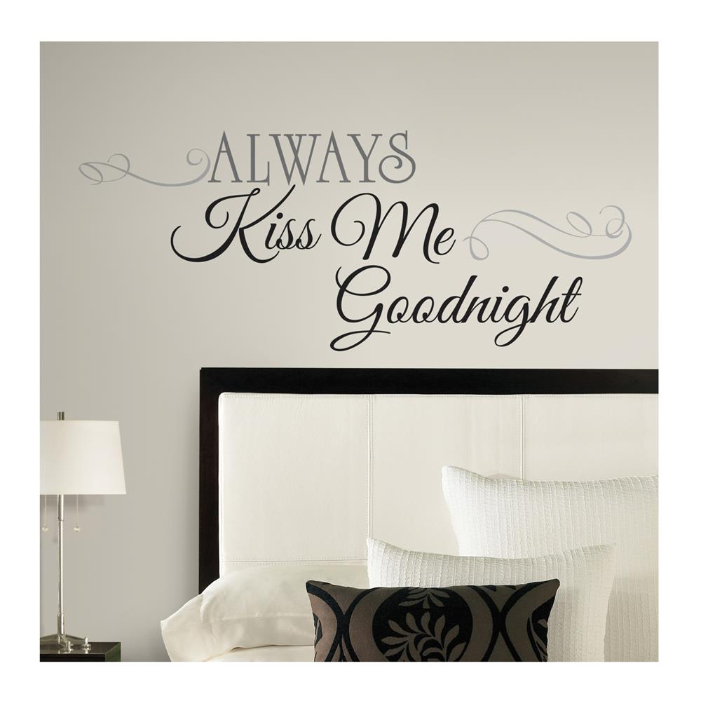 Always kiss me goodnight wall decal discount designer fabric always kiss me goodnight wall decal discount designer fabric fabric amipublicfo Images