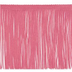 6'' Chainette Fringe Trim Hot Pink