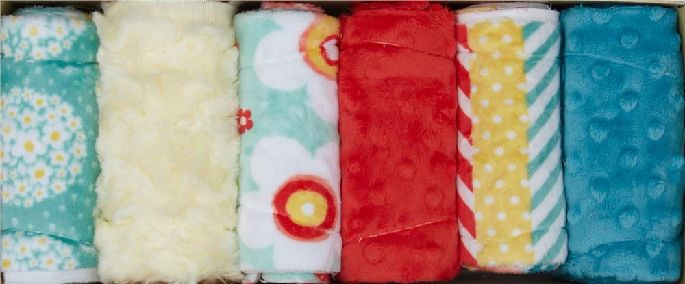 Minky Cuddle Quilt Kit Fabulous 5 Fresh Picked