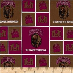 Collegiate Cotton Broadcloth University of Montana Multi Fabric