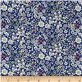 Liberty of London  Junes Meadow Lawn Blue