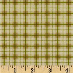 Riley Blake Elk Ridge Flannel Plaid Tan