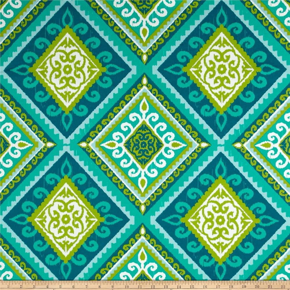 Terrasol Indoor/Outdoor Spanish Tile Peacock