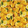 Farmer's Market Lemons Yellow