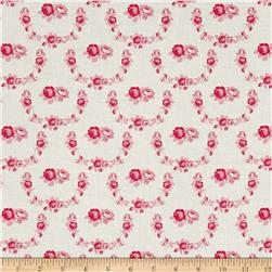 Tanya Whelan Shades of Rose Trellis Red