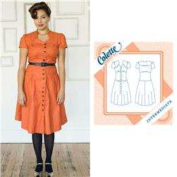 Colette Ceylon Dress Pattern