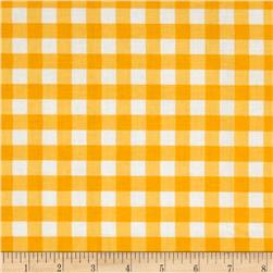Riley Blake Basics Large Gingham Yellow