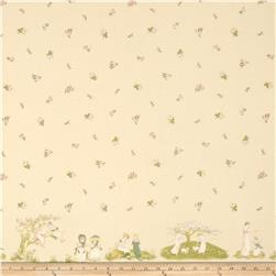 Lecien Kate Greenaway Border Print Peach