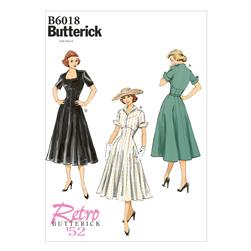 Butterick Misses' Dress Pattern B6018 Size A50
