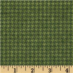 Do You See What I See Book Houndstooth Green
