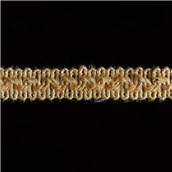 Expo 5/8'' Jaden Woven Braid Trim Natural