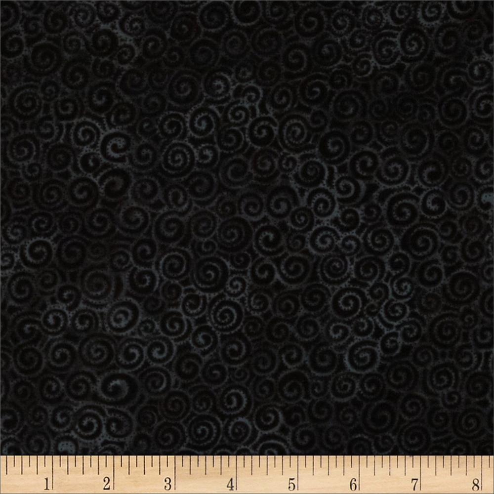 Laura Burch Swirls Black