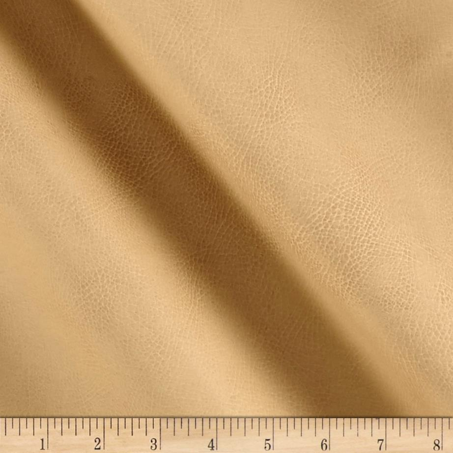 Richloom Tough Faux Leather Tiona Sandstone